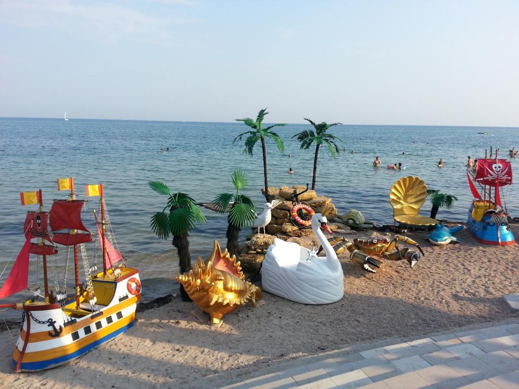 Black Sea, Mer Noire, Crimea, Crimée, Evpatoria