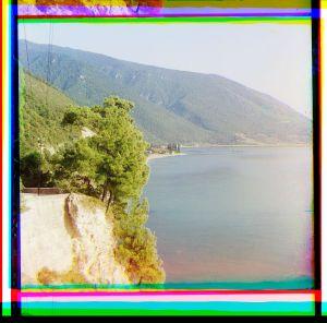 Black Sea, Mer Noire, Abkhazia, Abkhazie, Prokudin-Gorskii, Prokoudine-Gorski